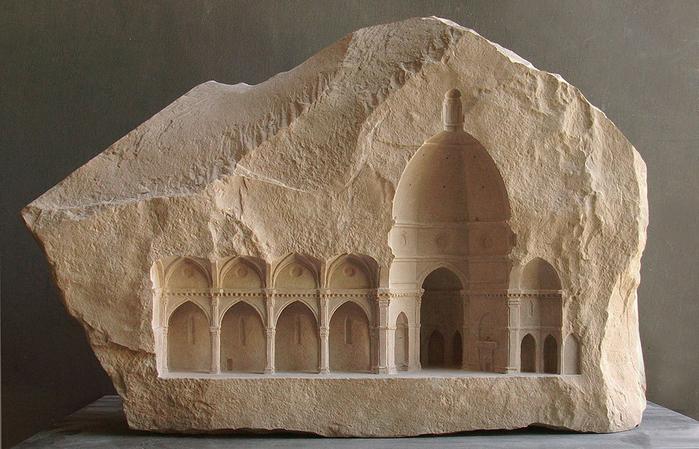 скульптуры из мрамора 16 (700x449, 379Kb)
