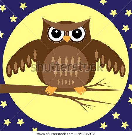 stock-photo-owl-at-night-raster-version-99396317 (450x470, 49Kb)