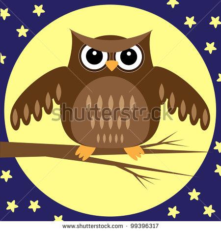 stock-photo-owl-at-night-raster-version-99396317 (450x470, 49Kb)