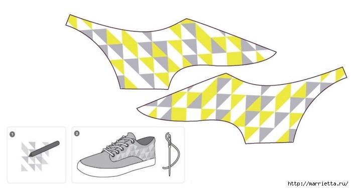 Идеи украшения кроссовок и джинсов для подростков (7) (700x378, 93Kb)