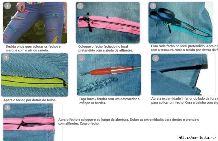 Идеи украшения кроссовок и джинсов для подростков (10) (700x453, 233Kb)