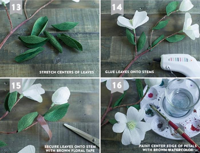 Цветы КИЗИЛА из гофрированной бумаги. Шаблоны для распечатки (7) (700x535, 273Kb)