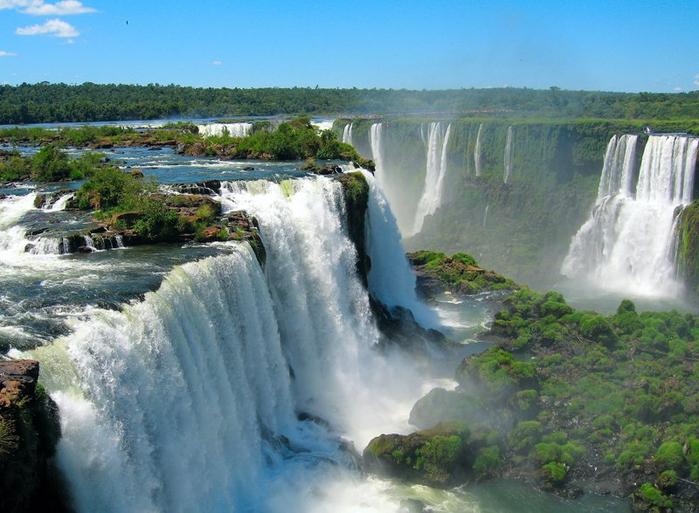водопады игуасу фото 1 (700x513, 383Kb)
