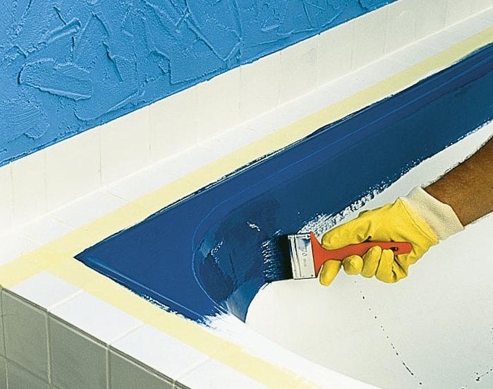 Как обновить старую чугунную ванну своими руками 55