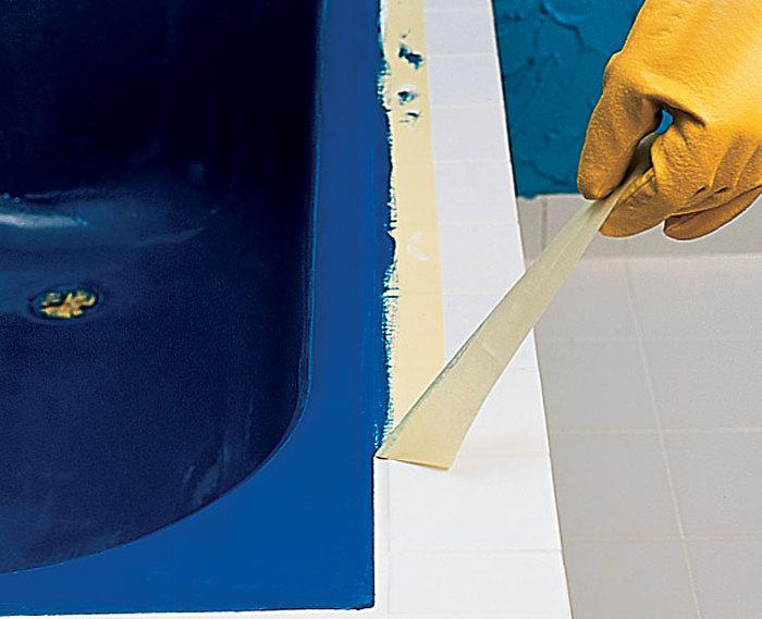 Как обновить ванну акрилом своими руками 80
