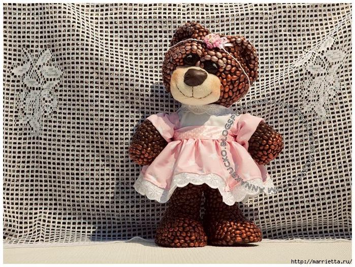 Медвежата из кофейных зерен (4) (700x527, 480Kb)