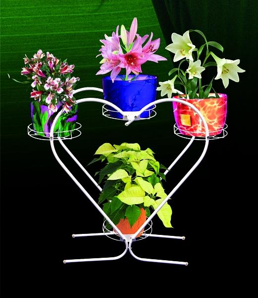 Своими руками подставка металлическая для цветов