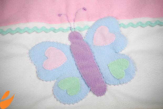 Одеяло с бабочками для детской кроватки. Шьем сами (5) (620x413, 298Kb)