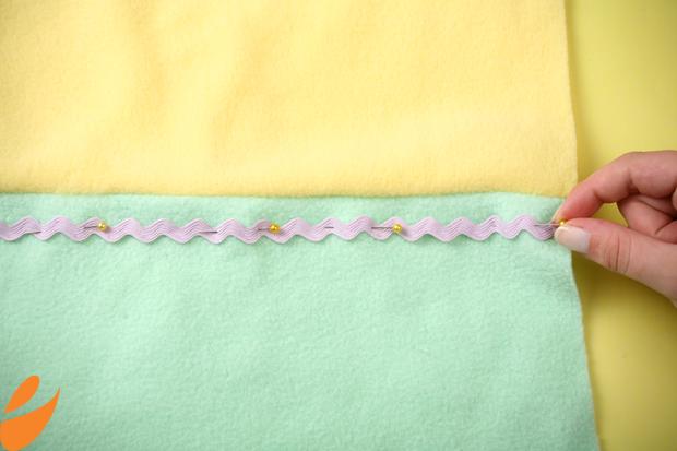 Одеяло с бабочками для детской кроватки. Шьем сами (9) (620x413, 350Kb)