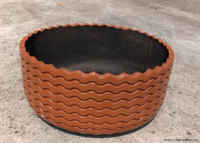 Otomano, jardineras para flores y eco-silla suave del neumático (17) (700x500, 258KB)