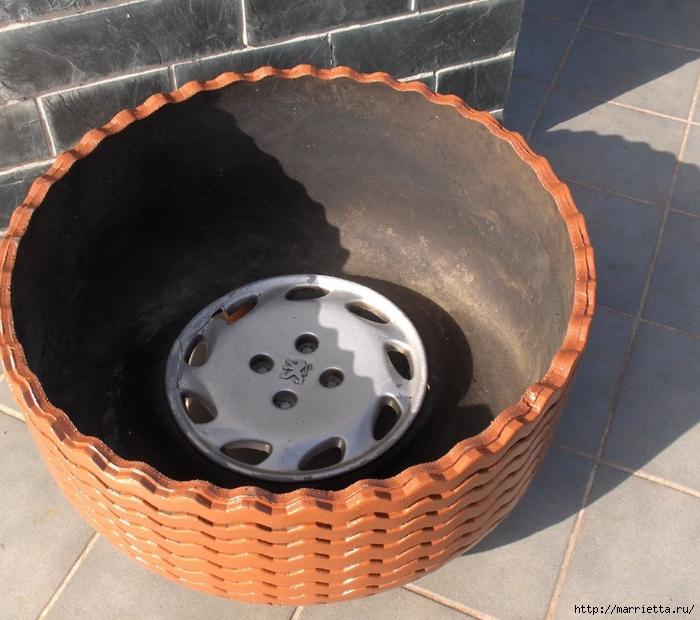 Otomano, jardineras para flores y eco-silla suave del neumático (22) (700x620, 308KB)
