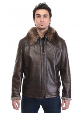 Мужские кожаные куртки и дубленки от фабрики Каляев (4) (270x370, 74Kb)