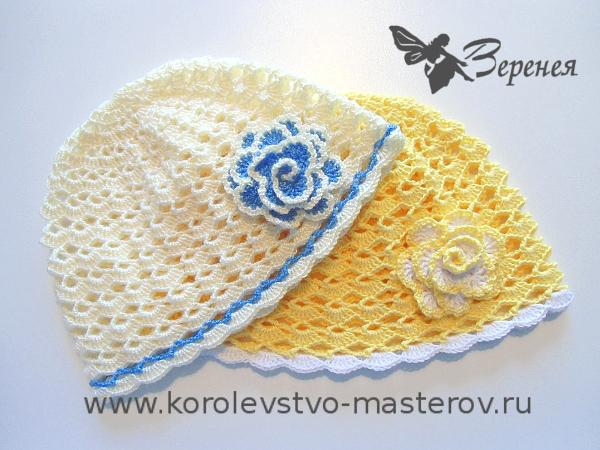 Вязание женская летняя шляпка