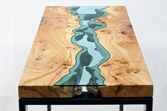 красивые деревянные столы Greg Klassen фото 2 (650x434, 215Kb)