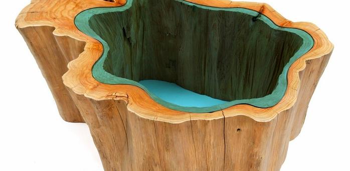 красивые деревянные столы Greg Klassen фото 7 (700x341, 213Kb)
