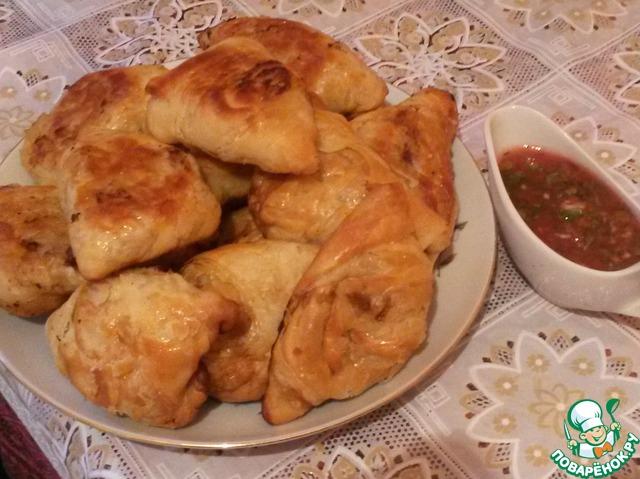 самса узбекская домашняя рецепт с фото