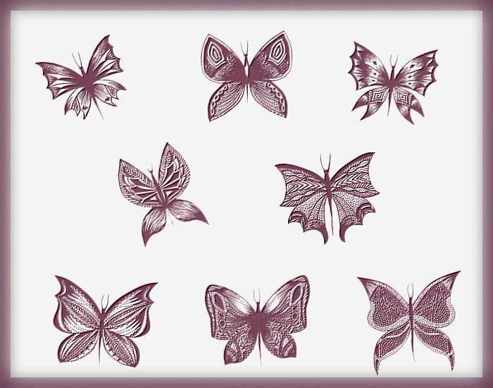 Кисти бабочки (700x550, 76Kb)