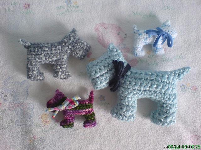 смешная вязаная собачка, как связать собачку, игрушка вязаная собачка, схема вязания собачки,