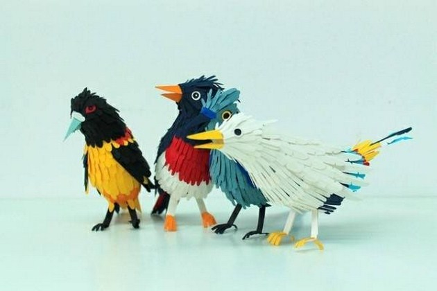 Beautiful-And-Realistic-Paper-Birds5 (630x420, 130Kb)
