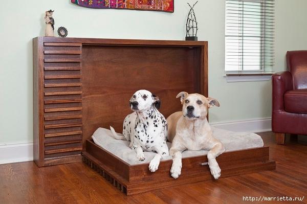Эргономичная кровать для собаки (6) (600x399, 157Kb)