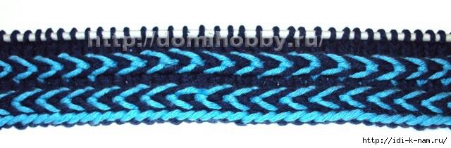 вязание декоративной косички на спицах, узоры на спицах, простые узоры на спицах, как связать косичку спицами,  как связать косичку на спицах,