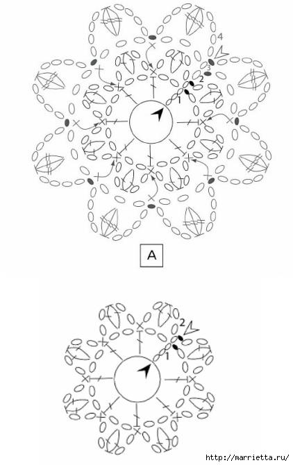 Вязание крючком. Стильные идеи и схемы для уюта в доме (2) (422x670, 114Kb)