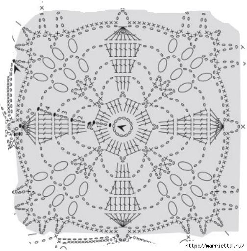 Вязание крючком. Стильные идеи и схемы для уюта в доме (22) (504x513, 159Kb)