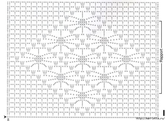 Вязание крючком. Стильные идеи и схемы для уюта в доме (24) (700x510, 307Kb)