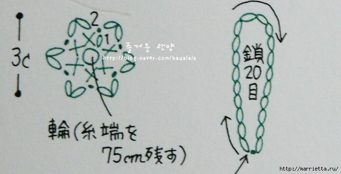 Розочки крючком для украшения кухни (13) (700x357, 157Kb)