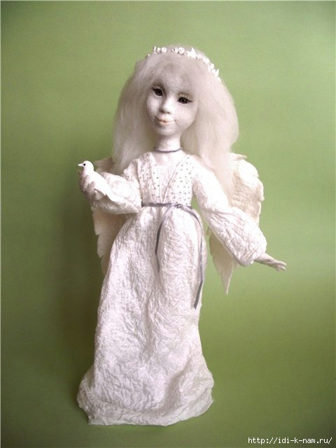 как сделать руки и пальцы войлочной кукле, валяем кисть руки, как свалять кисть руки пальцы,