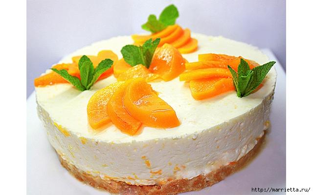 Рецепты чизкейка - апельсиновый и персиковый (2) (640x400, 197Kb)