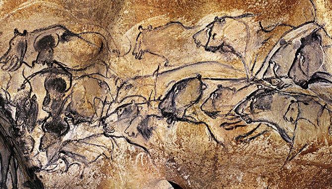 пещера шове франция фото 4 (670x382, 430Kb)