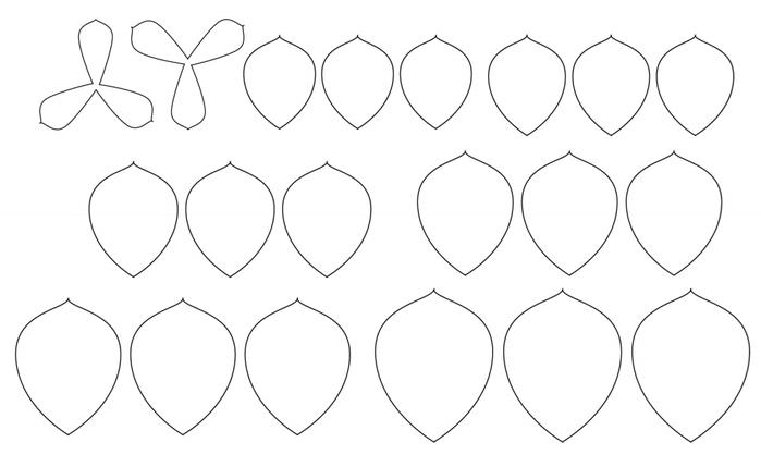 СУККУЛЕНТЫ из текстурной бумаги. Шаблоны для распечатки (2) (700x429, 78Kb)