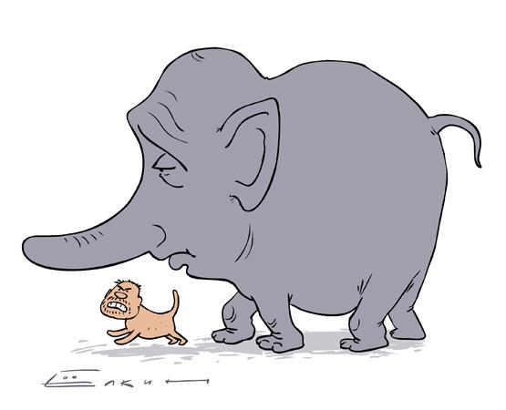 Слон и Моська (555x450, 55Kb)