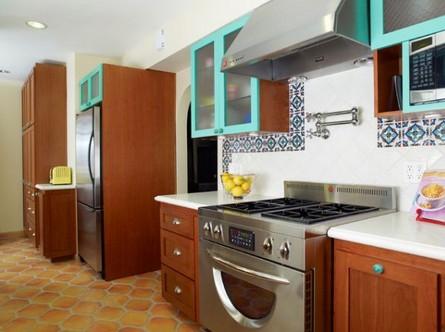 Встроенная кухня на заказ в мексиканском стиле (4) (445x332, 131Kb)