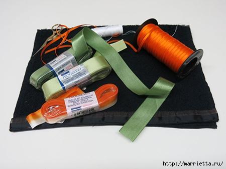 Как украсить полотенце вышивкой лентами. 4 мастер-класса (34) (450x338, 95Kb)