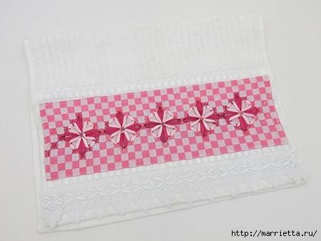 Как украсить полотенце вышивкой лентами. 4 мастер-класса (38) (450x338, 85Kb)