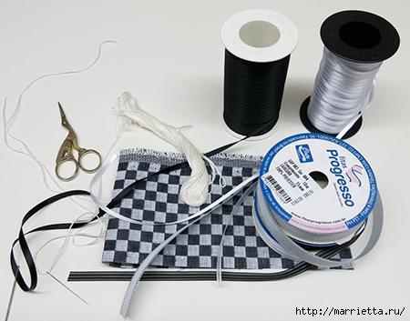 Как украсить полотенце вышивкой лентами. 4 мастер-класса (42) (450x353, 110Kb)
