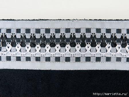 Как украсить полотенце вышивкой лентами. 4 мастер-класса (54) (450x338, 135Kb)