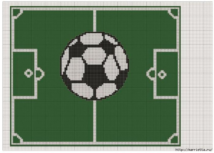 Вышивка салфеток к Чемпионату мира по футболу (3) (700x502, 264Kb)