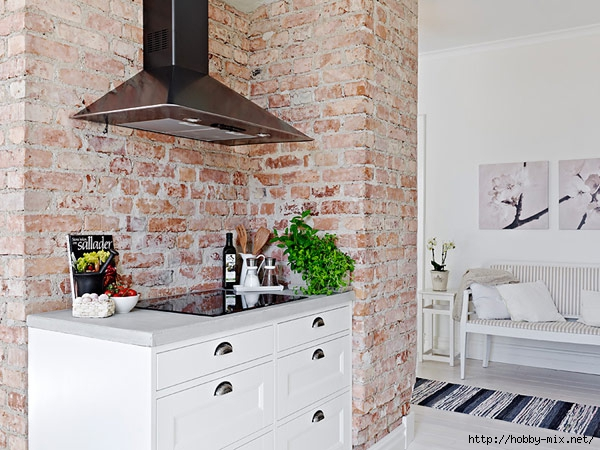 kitchen-countertop-design-in-apartment-with-exposed-brick-wall (600x450, 206Kb)