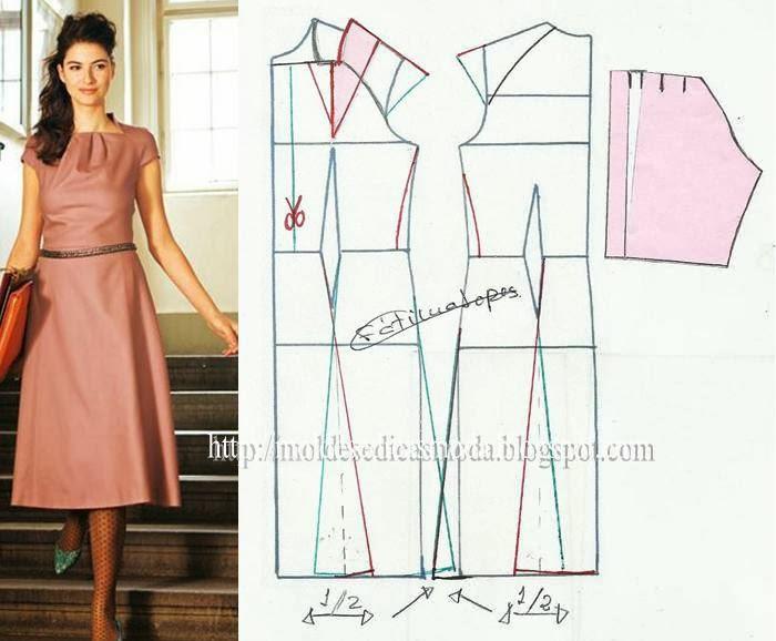 Сшить классическое платье