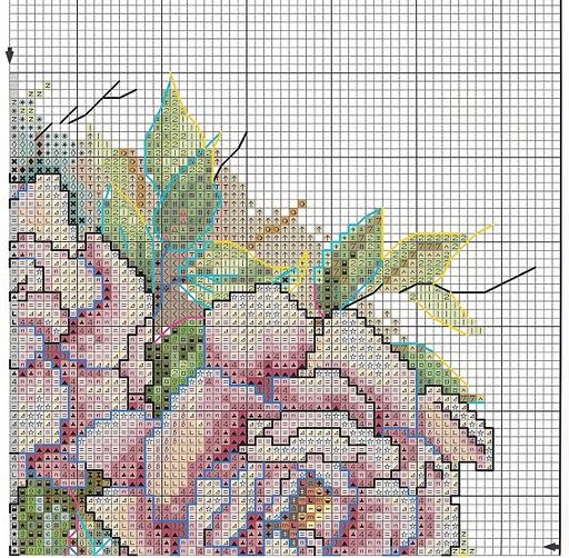 Вышивка на подушках. РОЗЫ (4) (512x502, 403Kb)