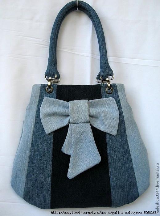 Сшить сумку из старых джинсов своими руками фото