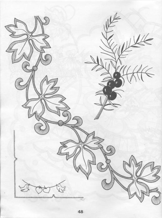 (俄罗斯刺绣图案图纸2)Анталогиявыши