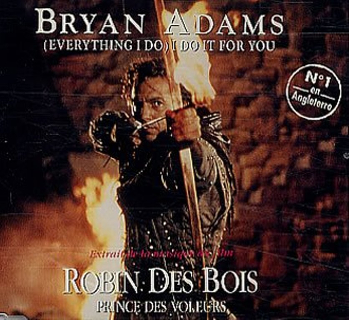 bryan adams саундтрек робин гуд: