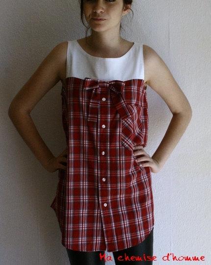 Платье из рубашки своими руками фото