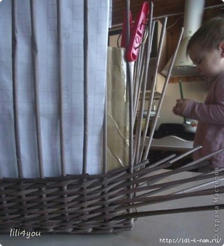 послойное плетение прямоугольных корзин из  газетных трубочек, как сплести прямоугольную корзину из газетных трубочек, мастер класс по плетению корзин из газетных трубочек,