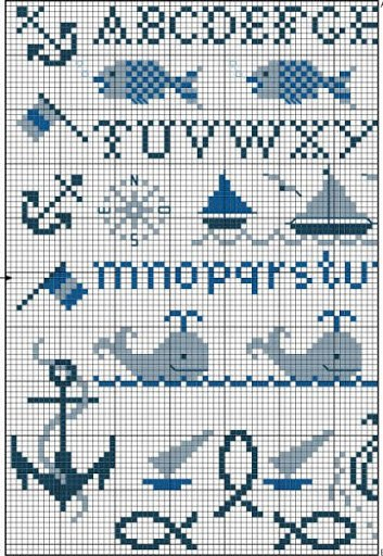 Морская тематика (вышивка