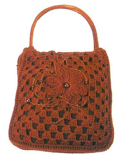 Красивые сумки.Схемы вязания